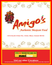Amigo's Mexican Food Menu